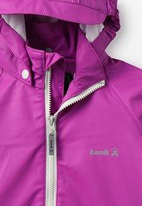 Kamik - SPOT - Waterproof jacket - vibrant viola - 3