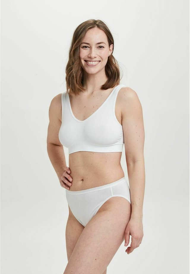 5 PACK  - Slip - white