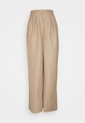 ECO VERO PANT - Bukse - beige