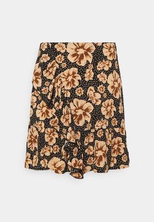 YASISLA MINI SKIRT - Mini skirt - black