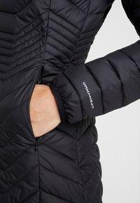 Columbia - POWDER LITE MID JACKET - Zimní kabát - black - 4