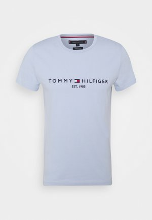 LOGO TEE - T-shirt con stampa - breezy blue