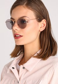 Ray-Ban - ROUND METAL - Sonnenbrille - gold-coloured - 4