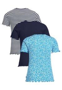 WE Fashion - 3 PACK - Print T-shirt - blue - 4