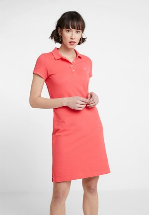 Day dress - watermelon red