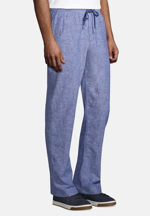 Trousers - chambray blue