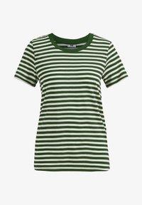 WE Fashion - Print T-shirt - dark green - 5