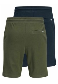 Jack & Jones - 2 PACK - Shorts - olive night - 7