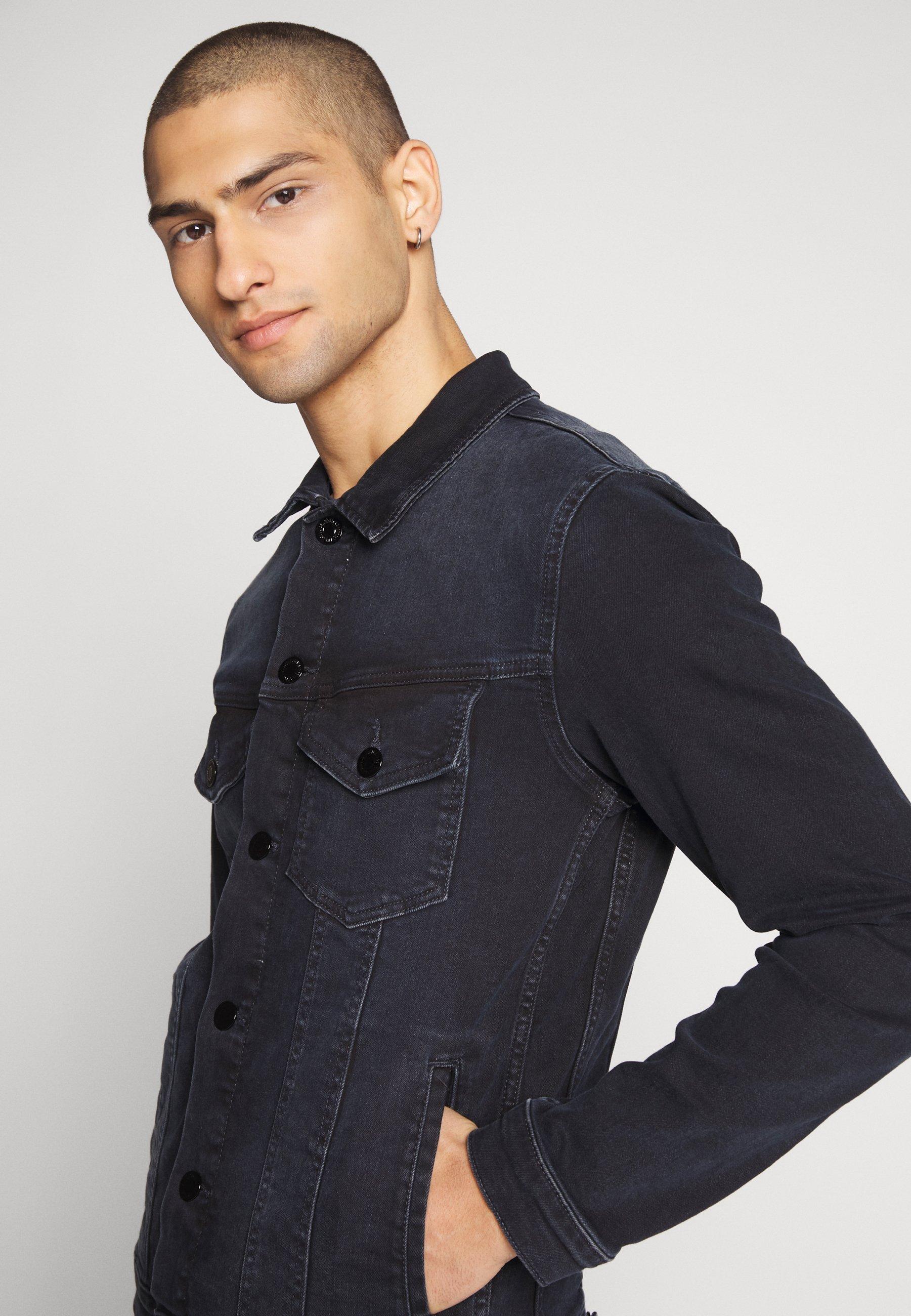 Uomo JJIALVIN JJJACKET  - Giacca di jeans
