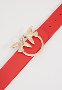 Pinko - BERRI SIMPLY BELT - Pasek - red - 2