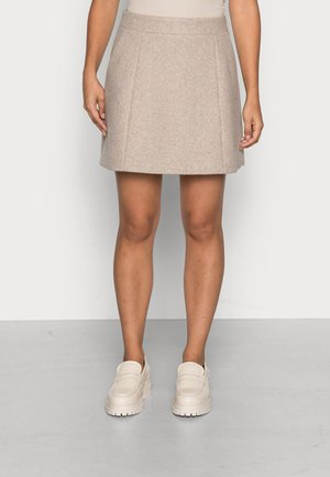 YASDAMINO SKIRT - Mini skirt - mushroom
