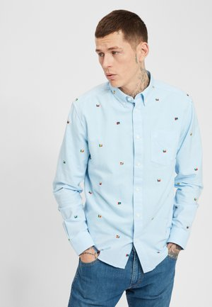 Overhemd - blue glow