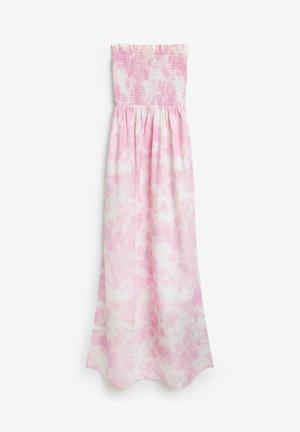 EMMA WILLIS BANDEAU  - Maxi dress - pink