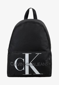 Calvin Klein Jeans - MONOGRAM CAMPUS BACKPACK  - Rugzak - black - 1