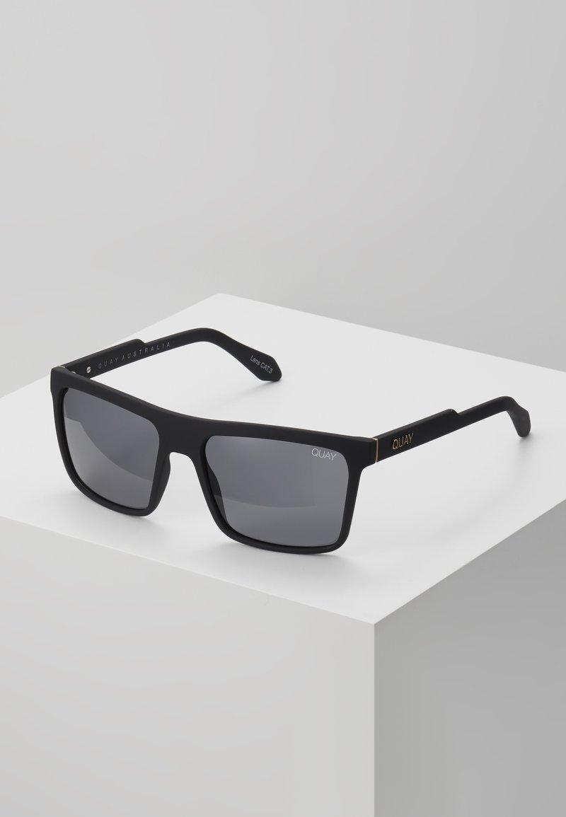 QUAY AUSTRALIA - LET IT RUN - Sunglasses - matte black