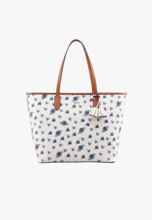 CORTINA MILLE FIORI  - Shopping bag - offwhite