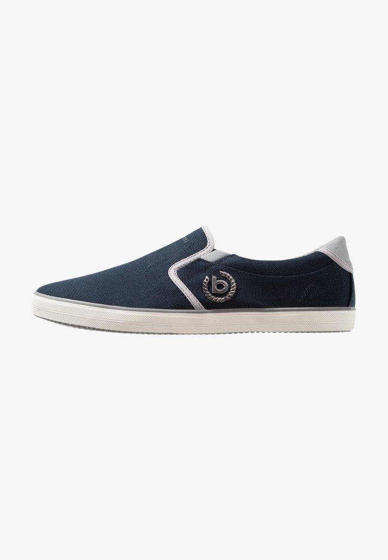 Bugatti - ALFA - Slip-ons - dark blue