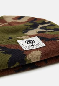 Element - DUSK BEANIE BOY - Beanie - dark green/brown - 2