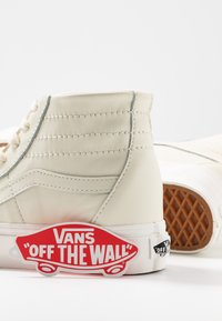 Vans - SK8 TAPERED - Baskets montantes - marshmallow/snow white - 7