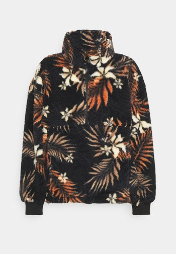 TIME OFF - Sweatshirt - black multi