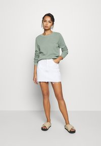 Dr.Denim Petite - MALLORY - Denim skirt - white - 1