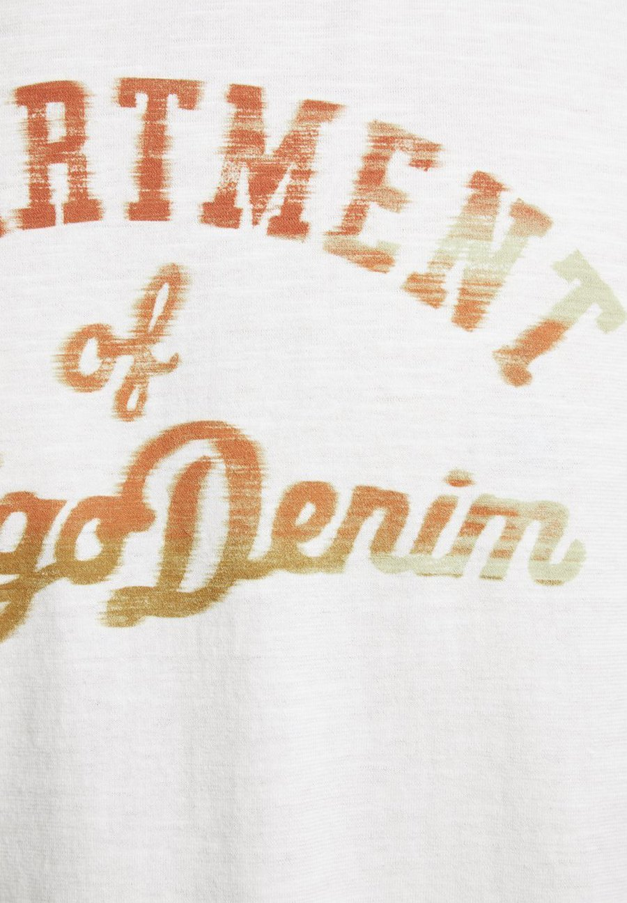 Jack & Jones PREMIUM Print T-shirt - cloud dancer kC1U4