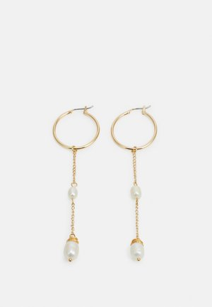 STATEMENT DROP EARRINGS - Pendientes - gold-coloured