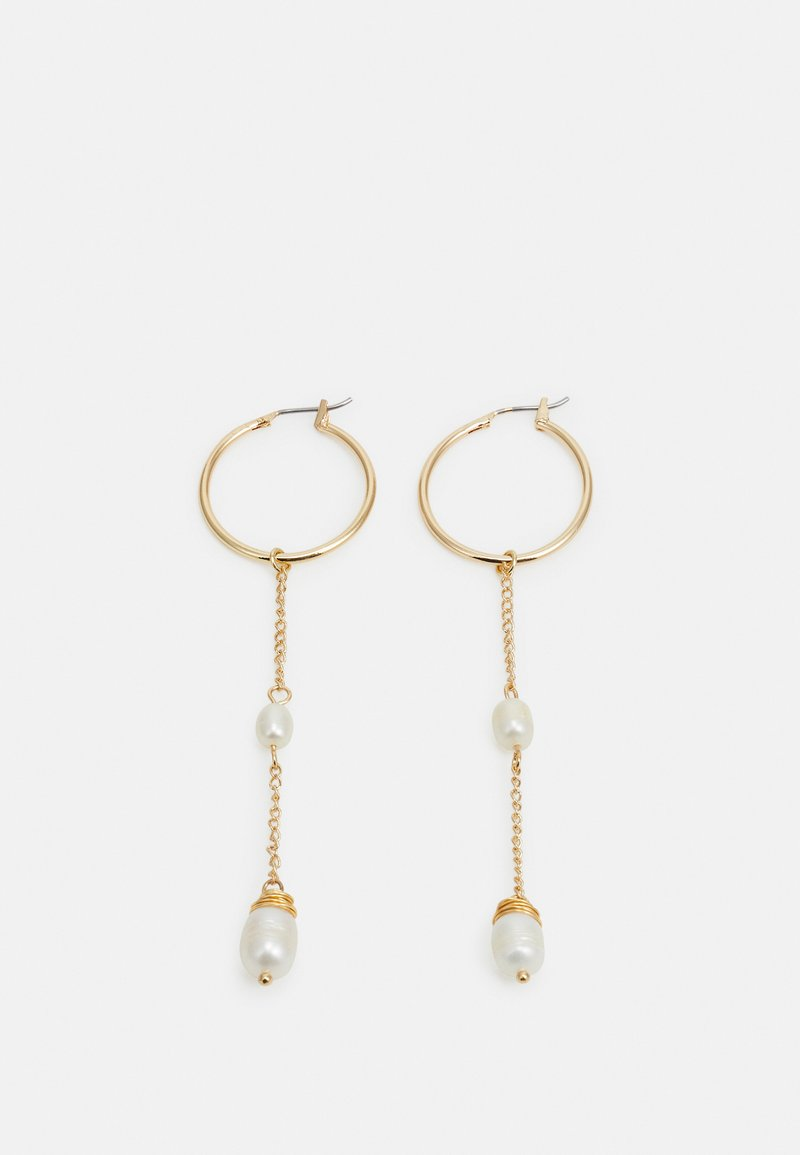 sweet deluxe - STATEMENT DROP EARRINGS - Orecchini - gold-coloured