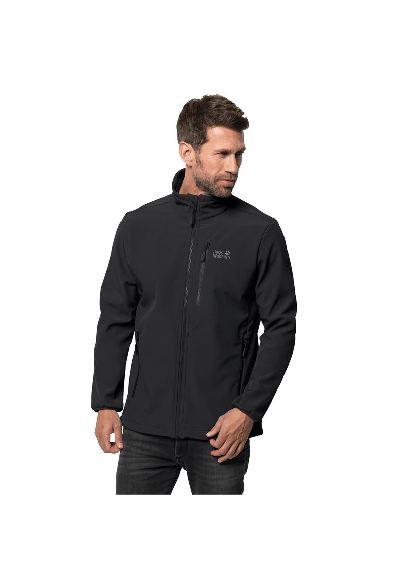 Jack Wolfskin - WHIRLWIND - Soft shell jacket - black
