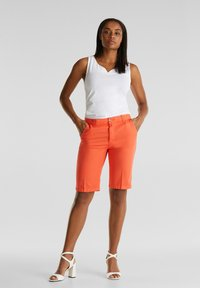 Esprit - Shorts - coral - 3