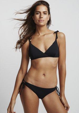 S.S PARADISE CROSSED - Bikini top - black pebble