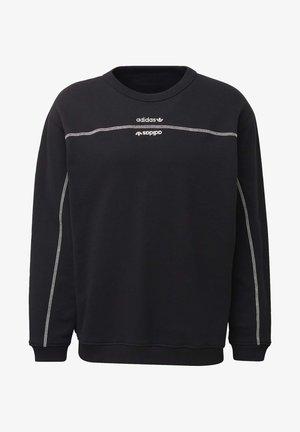 CREW SWEATSHIRT - Sweatshirt - black
