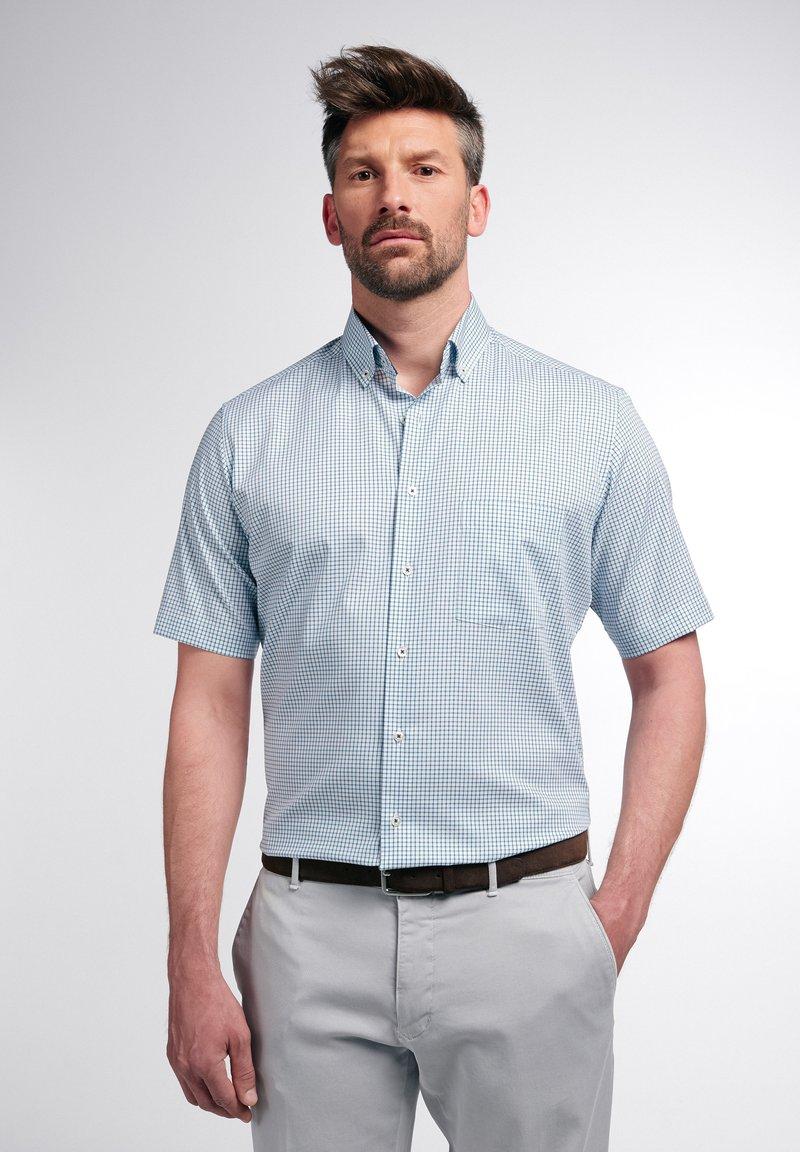 Eterna - MODERN FIT - Overhemd - grün