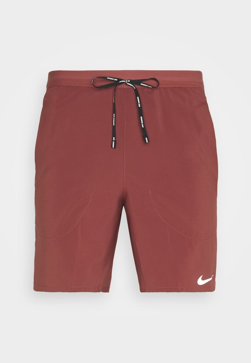 Nike Performance - FLEX STRIDE SHORT - Pantalón corto de deporte - claystone red/reflective silver