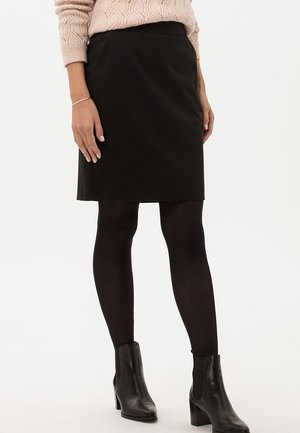 STYLE KENNEDY - Pencil skirt - black
