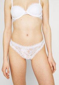 Calvin Klein Underwear - ONE BIKINI - Braguitas - white - 0