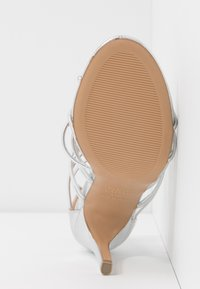 New Look - TOTTY - High heeled sandals - silver - 6
