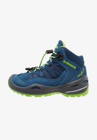 Lowa - ROBIN GTX - Walking boots - blau/limone - 1