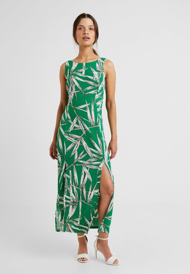 BAMBO PRINT - Maxi-jurk - green