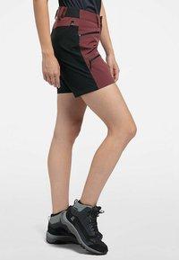 Haglöfs - Sports shorts - maroon red/true black - 2