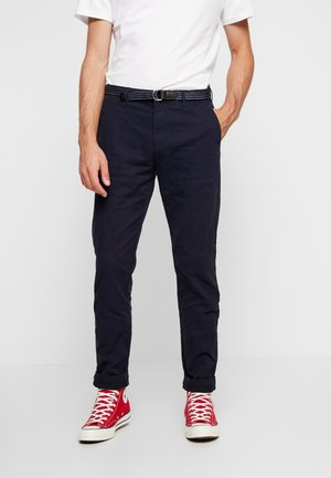 STRETCH STUART WITH BELT - Broek - night