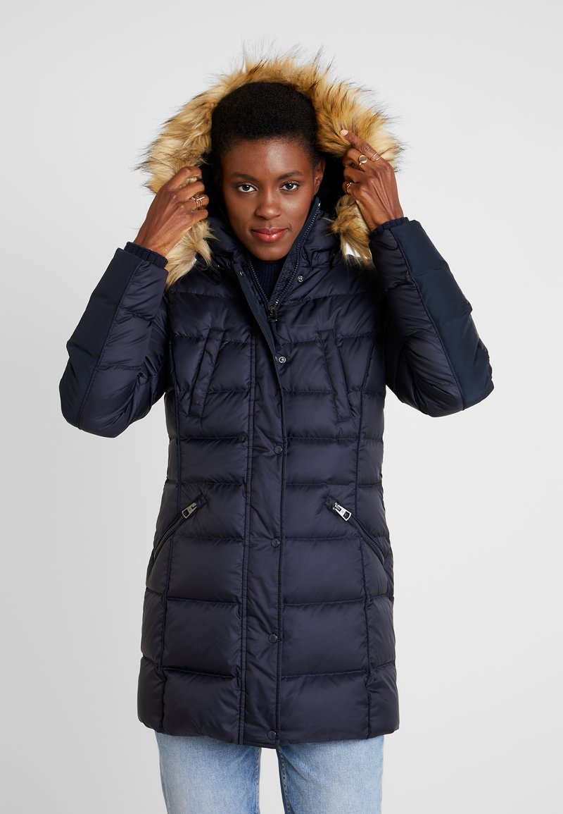 Marc O'Polo - COAT FILLED - Down coat - midnight blue