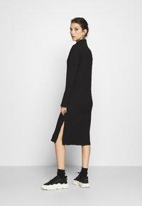 Monki - DEVA DRESS - Jersey dress - black - 2
