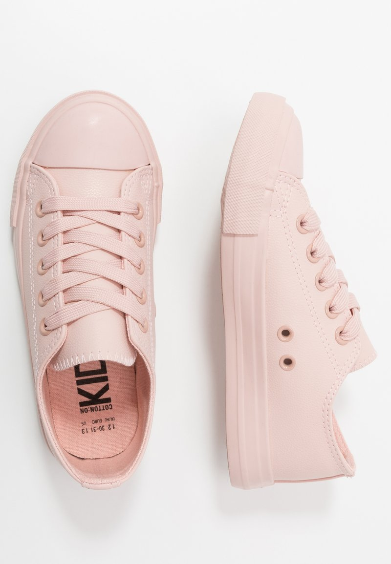 Cotton On - CLASSIC TRAINER LACE UP - Tenisky - peach whip
