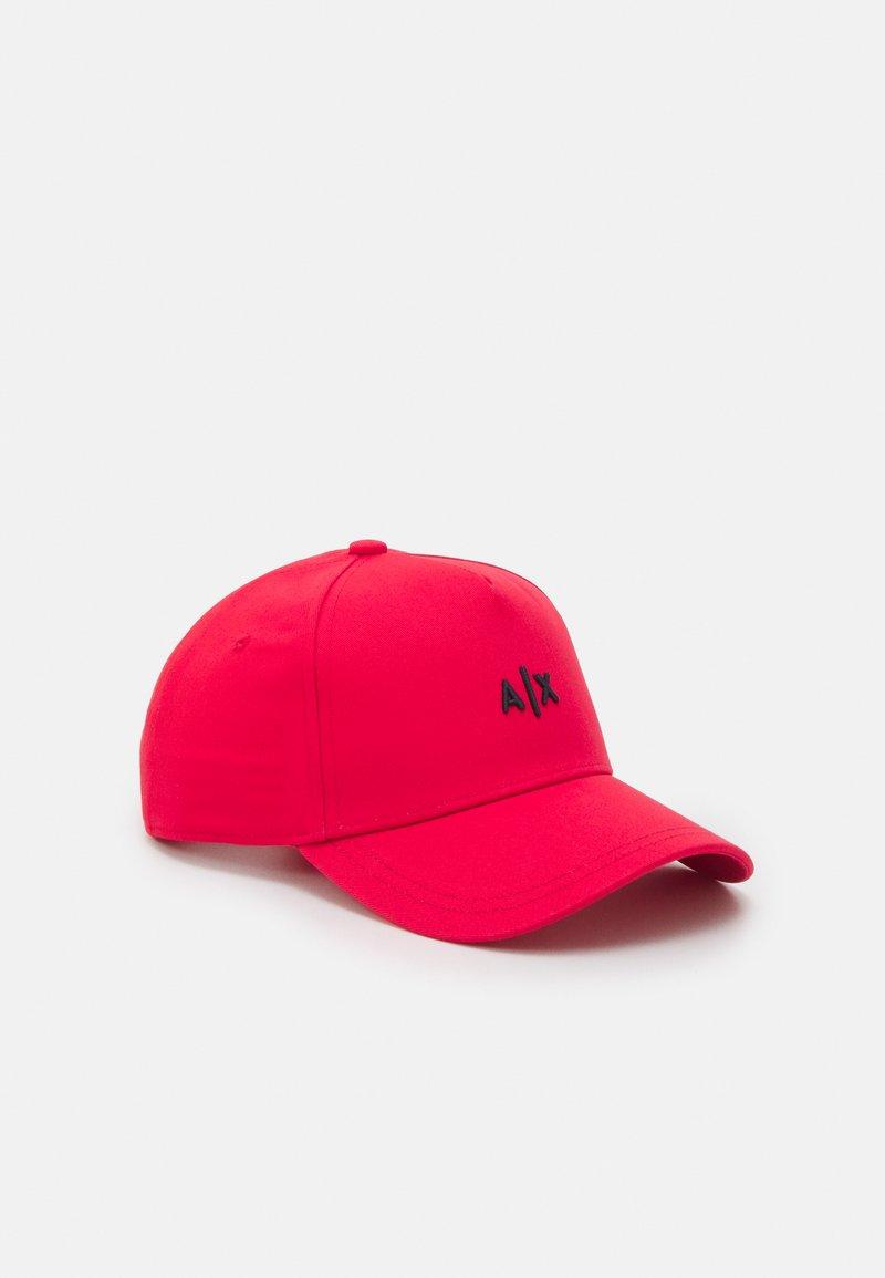Armani Exchange - BASEBALL HAT UNISEX - Cappellino - rosso/blu/red/blue