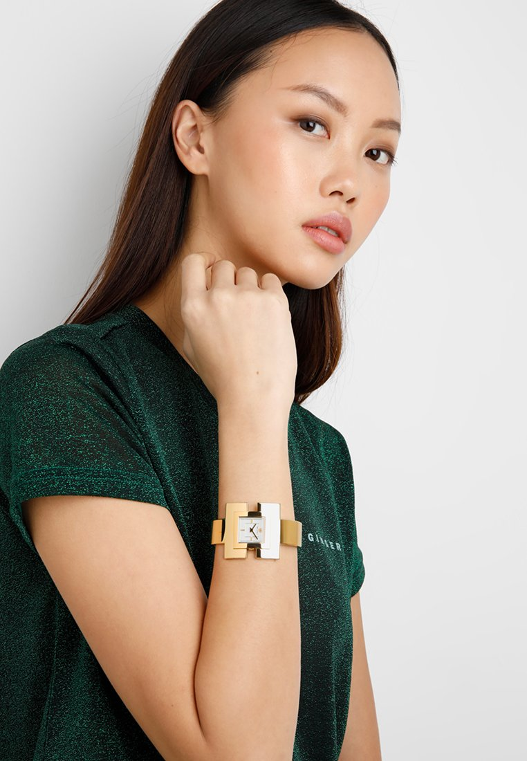 Tory Burch - THE T BANGLE - Watch - gold-coloured