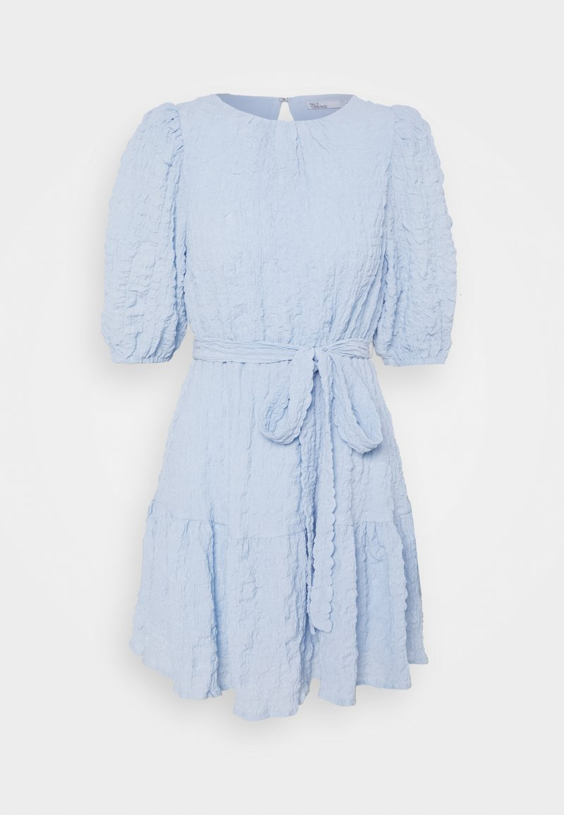 Nly by Nelly - AMAZE ME PUFF DRESS - Cocktailkjole - light blue