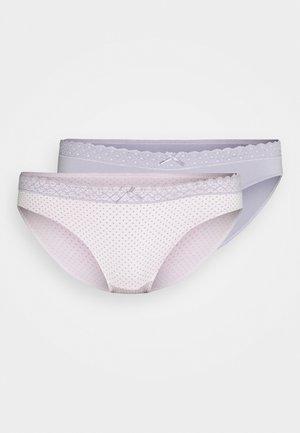 KENDRA 2 PACK - Slip - pink/grey