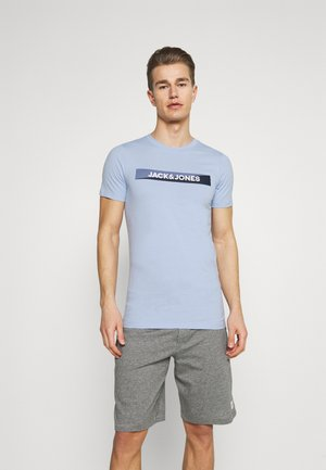 JACTREVOR TEE 3 PACK - Pyjama top - white/black/serenity