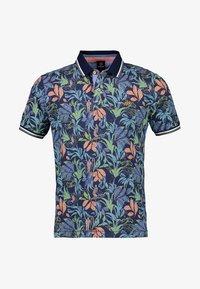 LERROS - FLOWER - Polo shirt - vintage blue - 4